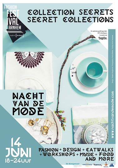 Chris Meijers Collectie - Affiche Nacht van de Mode 2014: Collection Secrets