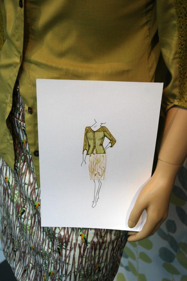 Chris Meijers Collectie - SS 2016 blouse 1503 en rok 1409